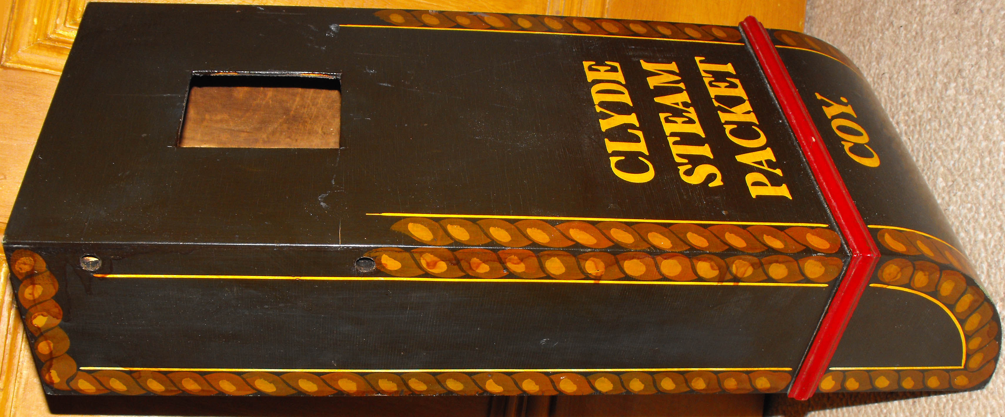 Clyde Steam Packet Coy box